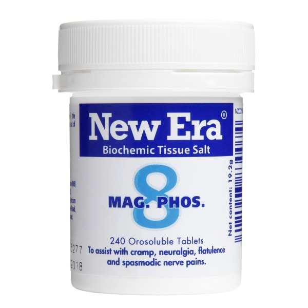 New Era Tissue Salt No.8 Mag. Phos. 240 Tablets