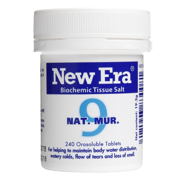New Era Tissue Salt No.9 Nat. Mur. 240 Tablets