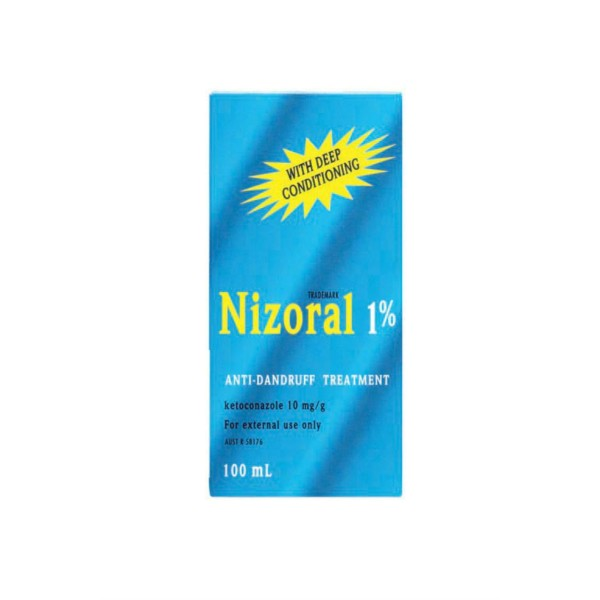 Nizoral 1% Anti Dandruff Treatment 100ml