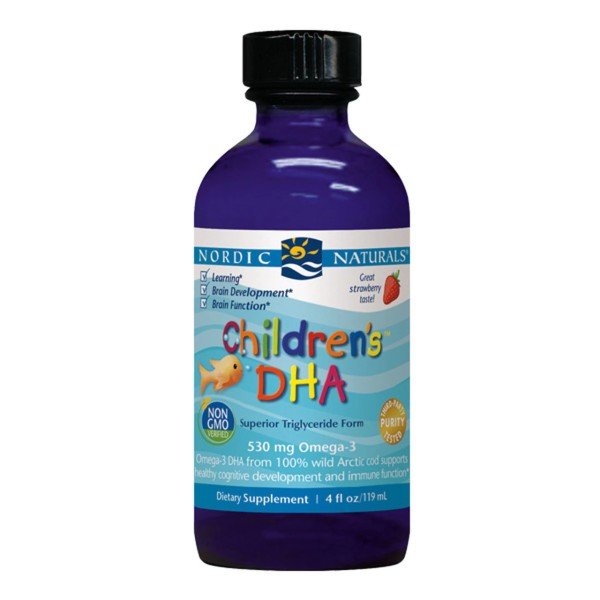 Nordic Naturals Children's DHA Liquid Strawberry Flavour