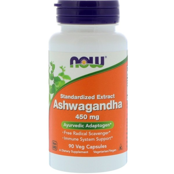 Now Foods Ashwagandha 450mg 90 Capsules