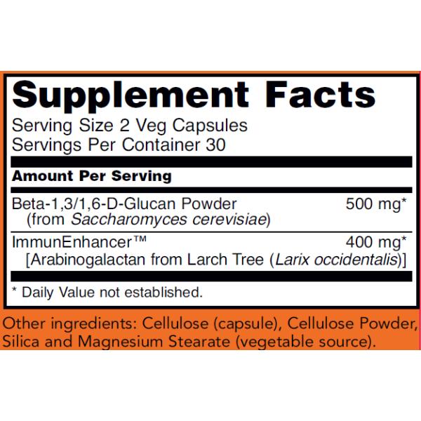 Now Foods Beta-Glucans Extra Strength 250mg 60 Capsules