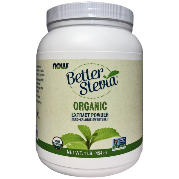 Now Foods BetterStevia® Extract Powder Organic 454g