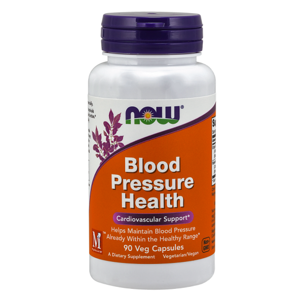 Now Foods Blood Pressure Health 90 Capsules