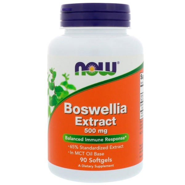 Now Foods Boswellia Extract 500mg 90 Softgels