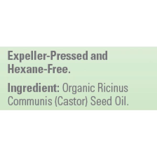 Now Foods Castor Oil Certified Organic 237ml