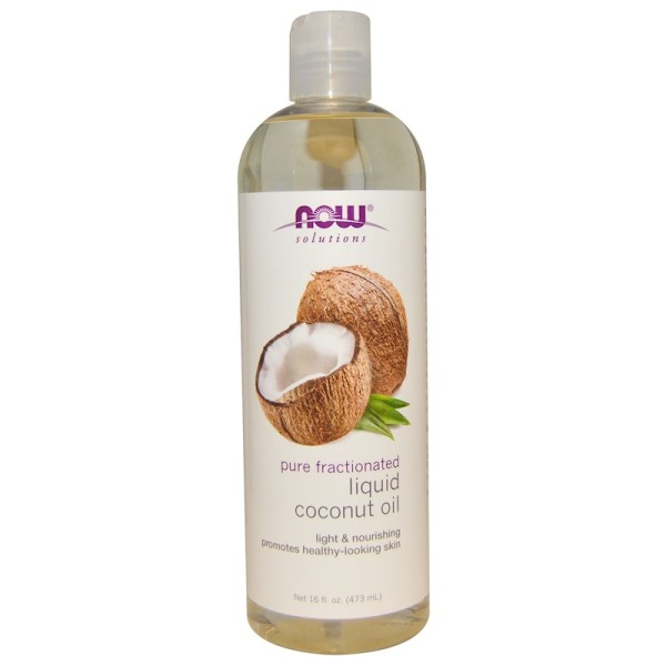 Now Foods Coconut Oil Liquid Pure Fractionated 473ml