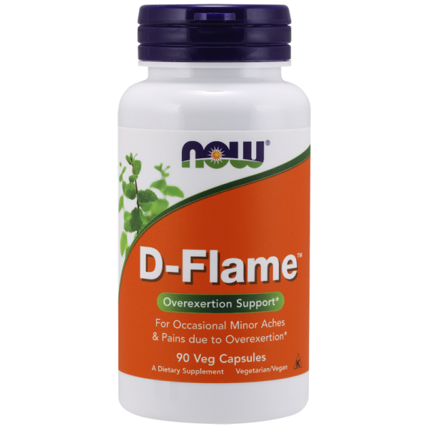 Now Foods D-Flame Overexertion Support 90 Capsules