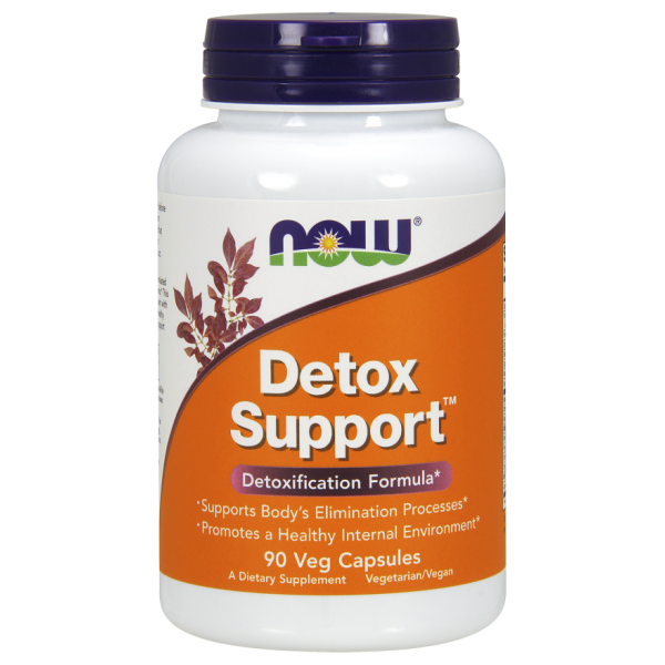 Now Foods Detox Support Detoxification Formula 90 Capsules