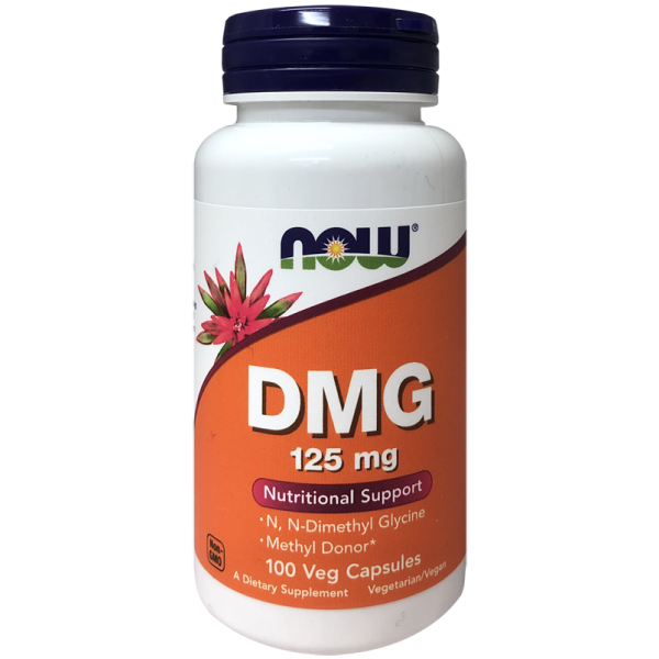 Now Foods DMG 125mg Nutritional Support 100 Capsules