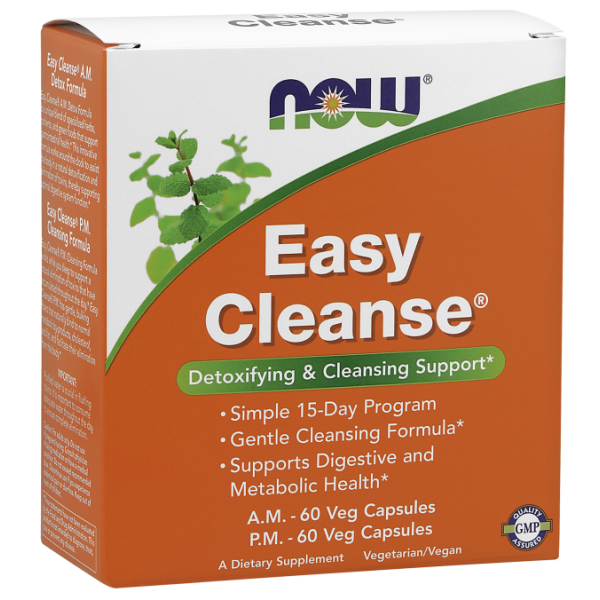 Now Foods Easy Cleanse 2 Bottles