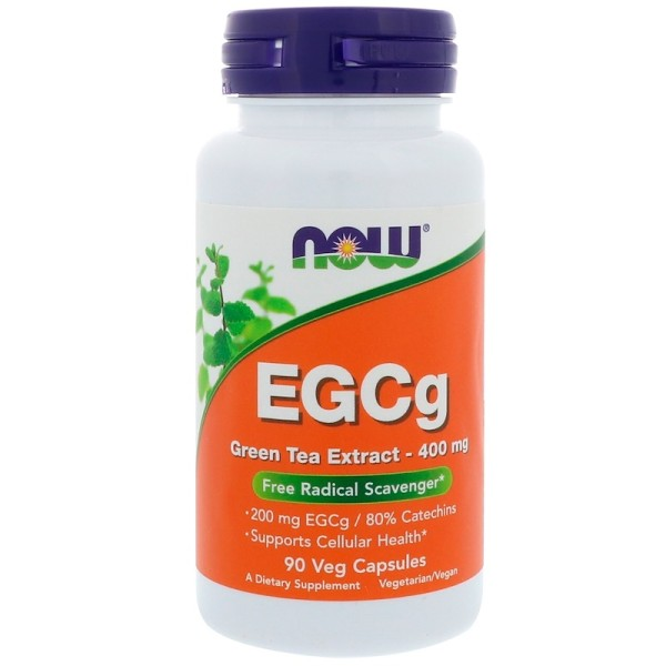 Now Foods EGCg Green Tea Extract 400mg 90 Capsules