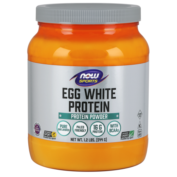 Now Foods Egg White Protein Protein Powder 544g