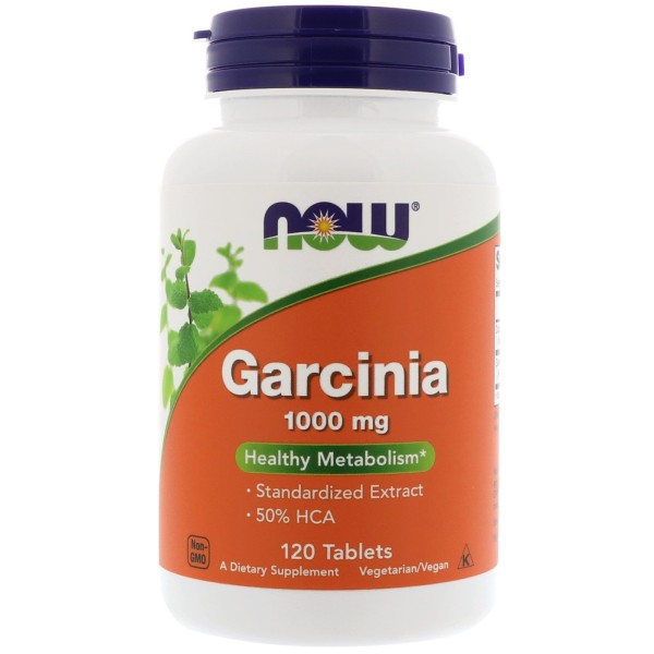 Now Foods Garcinia Cambogia 1000mg 120 Tablets