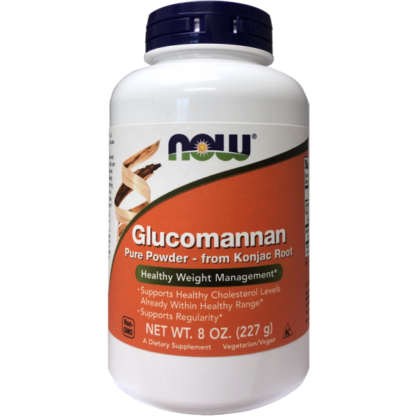 Now Foods Glucomannan Pure Powder 227g