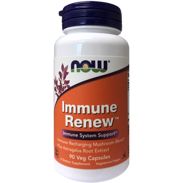 Now Foods Immune Renew Organic Mushroom Blend 90 Capsules