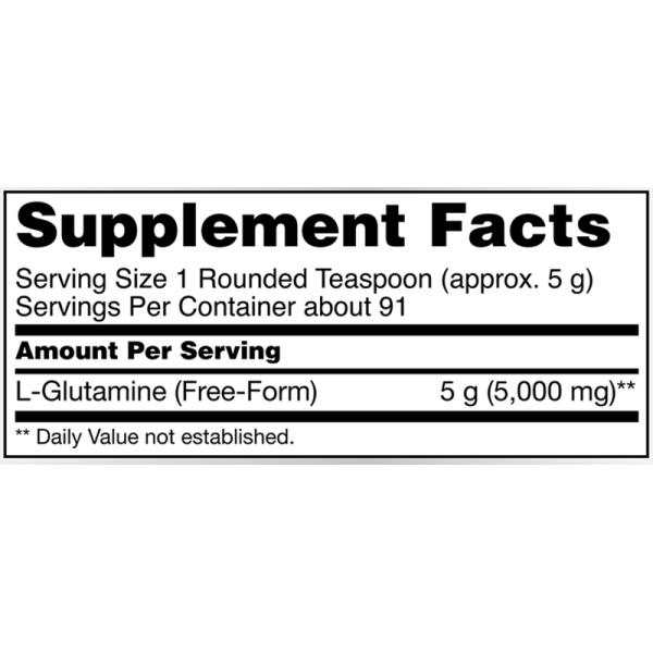 Now Foods L-Glutamine Powder 454g