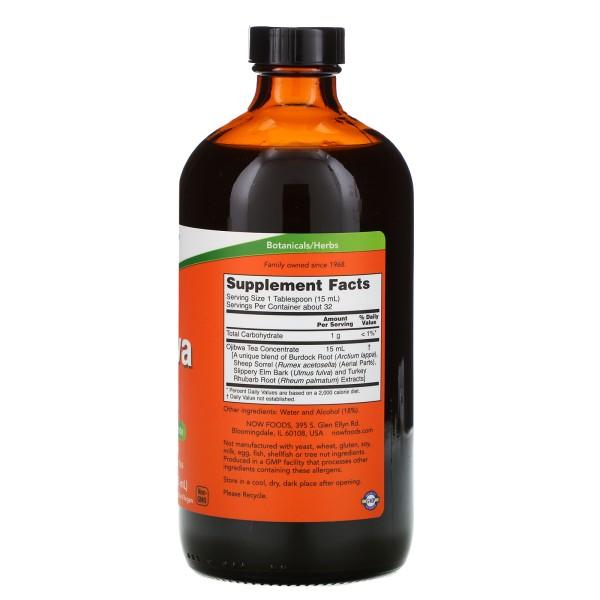 Now Foods Liquid Ojibwa Herbal Tea 473ml