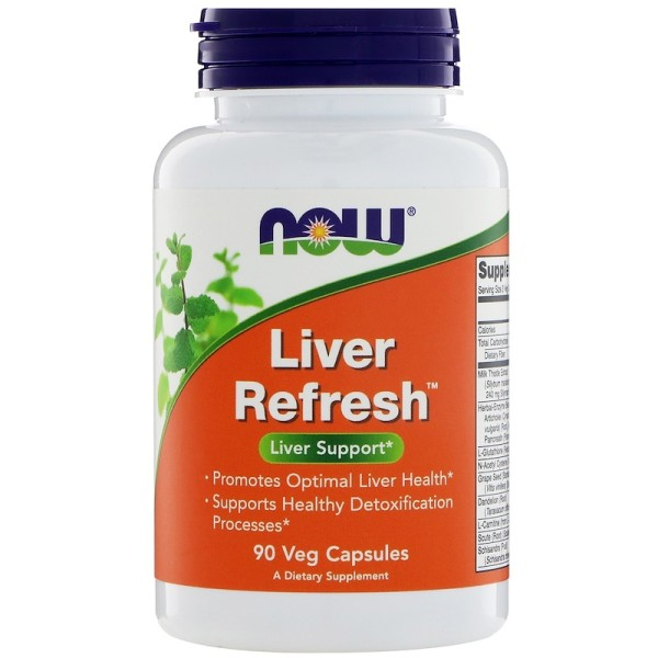 Now Foods Liver Refresh Liver Support 90 Capsules
