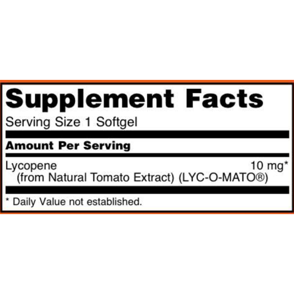 Now Foods Lycopene 10mg 60 Softgels