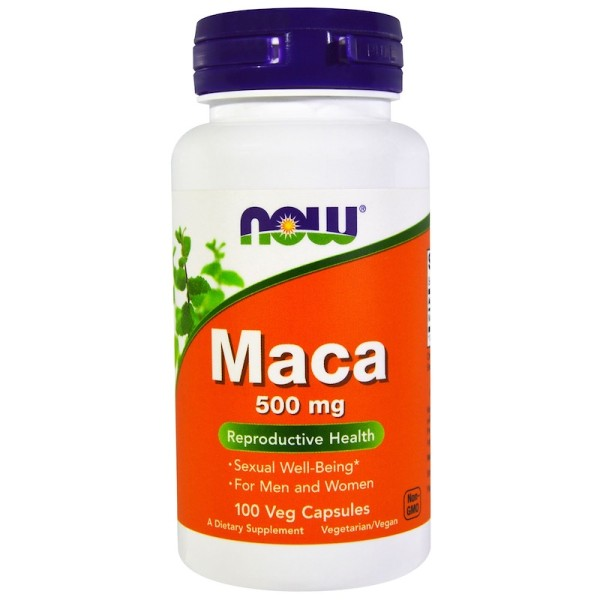 Now Foods Maca 500mg 100 Capsules