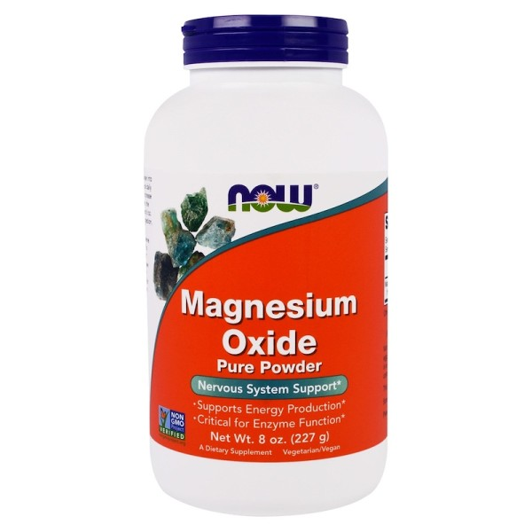 Now Foods Magnesium Oxide Pure Powder 227g