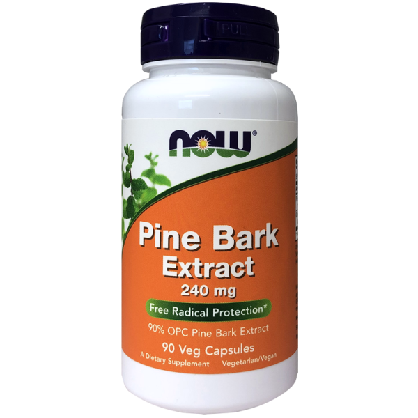 Now Foods Pine Bark Extract 240mg 90 Capsules