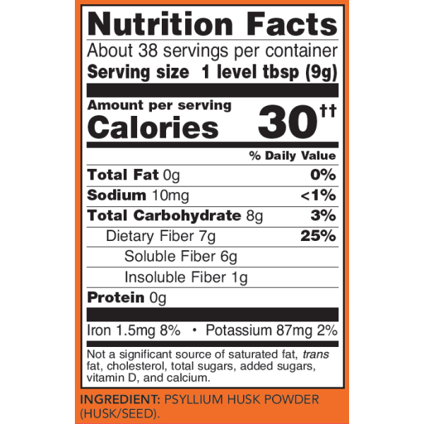 Now Foods Psyllium Husk Powder 340g