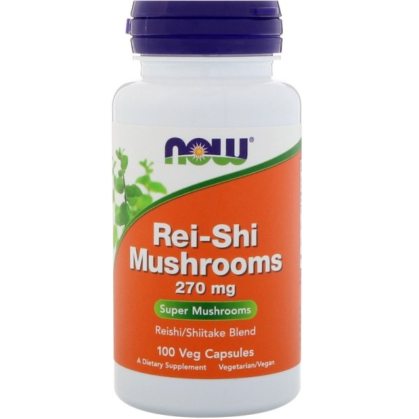 Now Foods Rei-Shi Mushrooms 270mg 100 Capsules