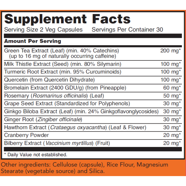 Now Foods Super Antioxidants with Herbal Extracts 60 Capsules