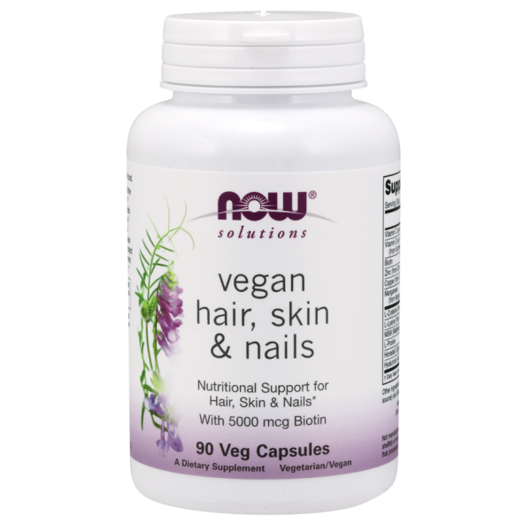 Now Foods Vegan Hair Skin and Nails 90 Capsules
