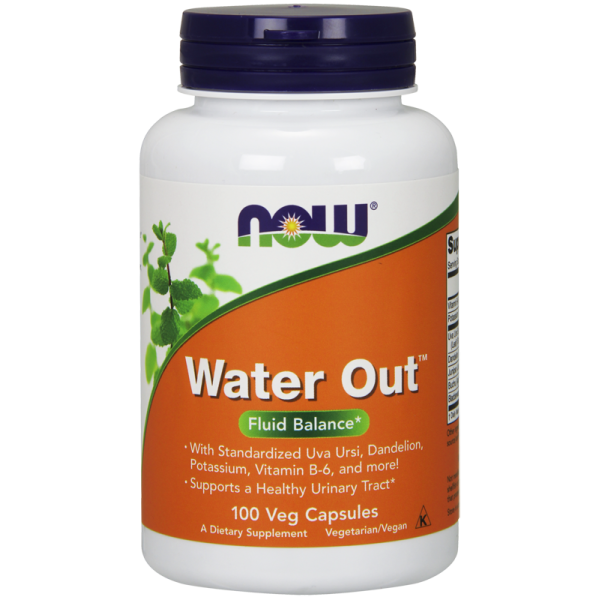 Now Foods Water Out Fluid Balance 100 Capsules