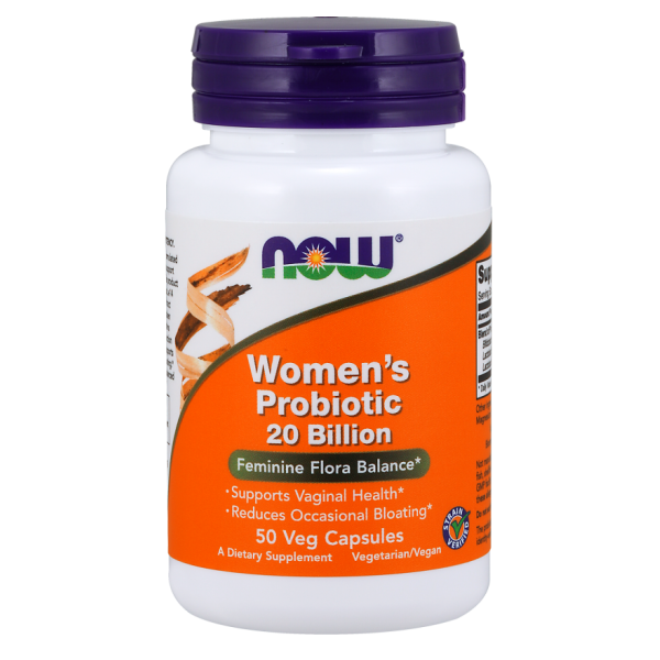 Now Foods Women's Probiotic 20 Billion 50 Capsules