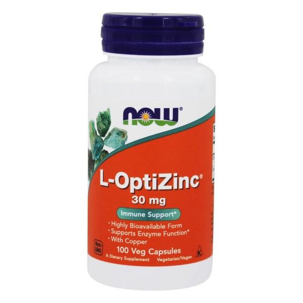 Now Foods Zinc L-OptiZinc 100 Capsules