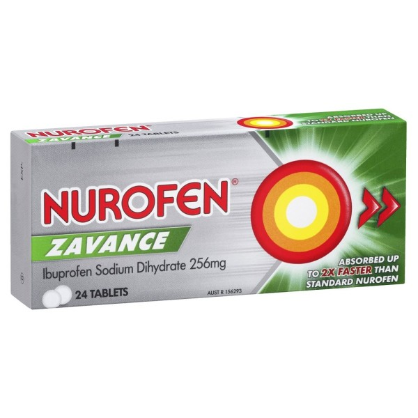Nurofen Zavance Ibuprofen 200mg Tablets