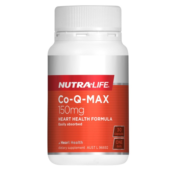 NutraLife CoQ10 Max 150mg Capsules