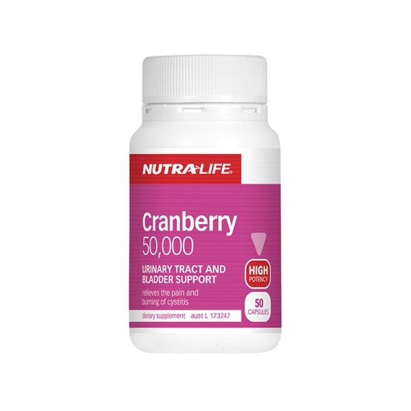 NutraLife Cranberry 50000mg 50 Capsules
