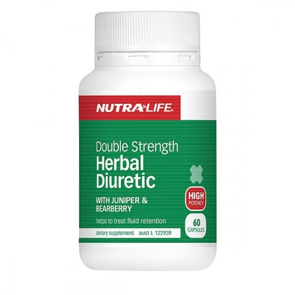 NutraLife Double Strength Herbal Diuretic 60 Capsules