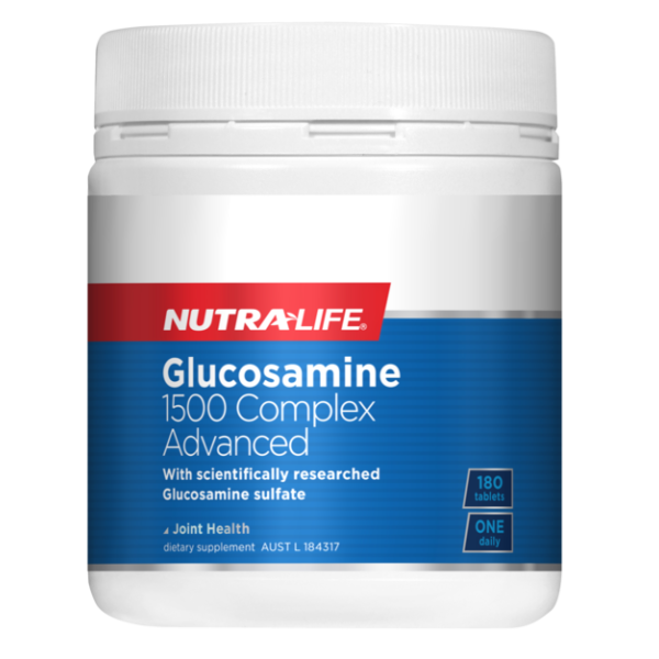 NutraLife Glucosamine 1500mg Complex Advanced 180 Tablets