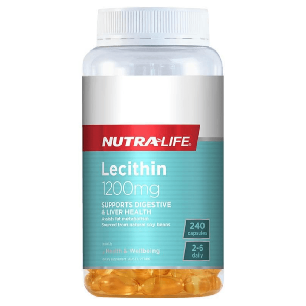 NutraLife Lecithin 1200mg 240 Capsules