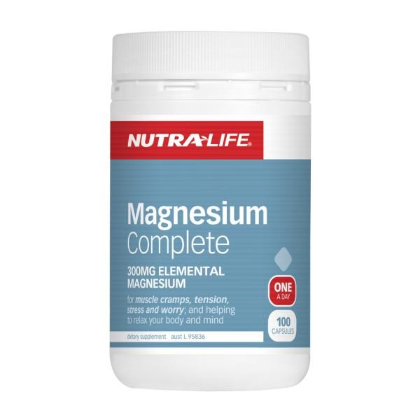 NutraLife Magnesium Complete 100 Capsules