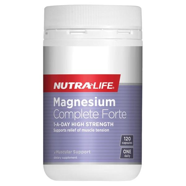 NutraLife Magnesium Complete Forte 120 Capsules