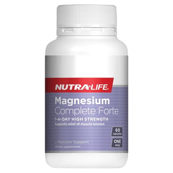 NutraLife Magnesium Complete Forte 60 Capsules