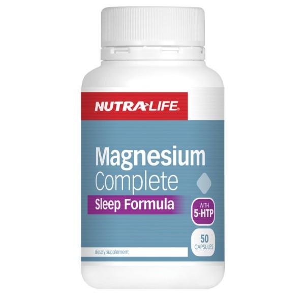 NutraLife Magnesium Complete Sleep Formula 50 Capsules