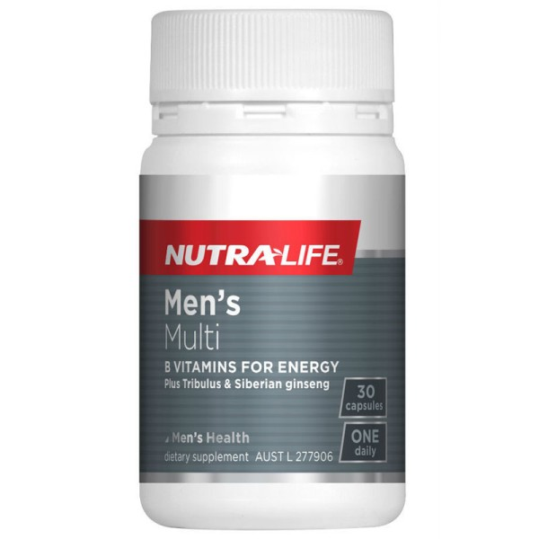 NutraLife Men's Multi One A Day 30 Capsules