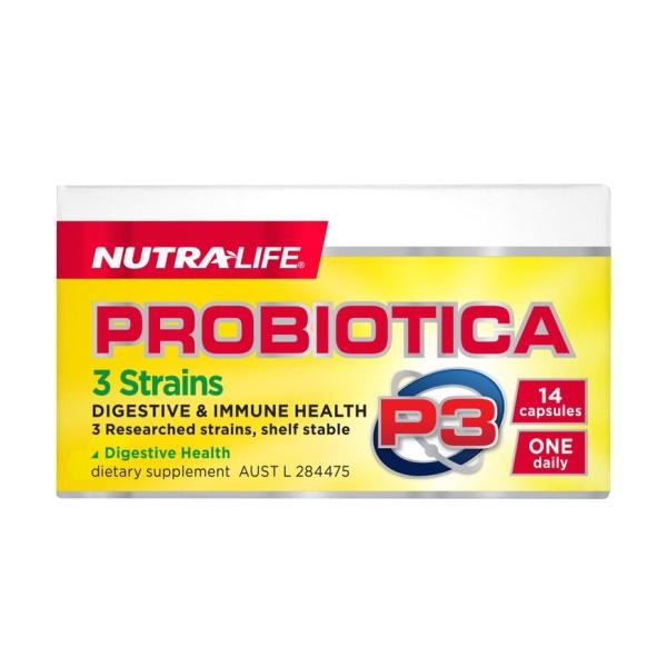 NutraLife Probiotica P3 14 Capsules