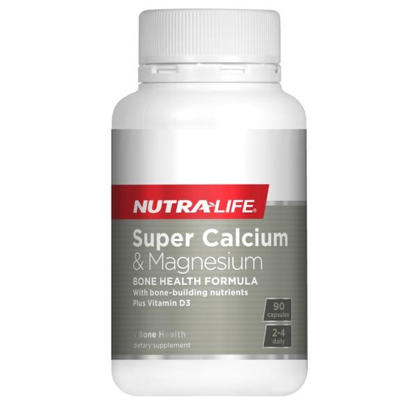 NutraLife Super Calcium & Magnesium 90 Capsules