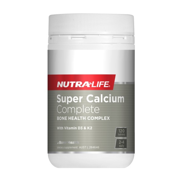NutraLife Super Calcium Complete 120 Tablets