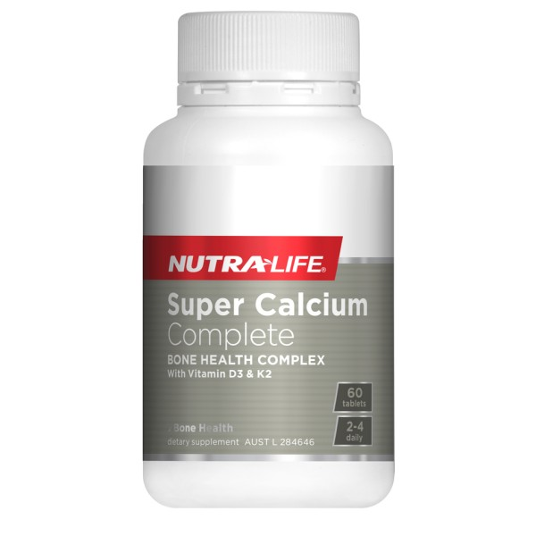 NutraLife Super Calcium Complete 60 Tablets