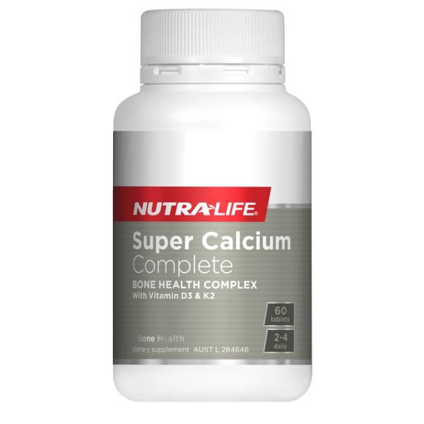 NutraLife Super Calcium Complete 60 Tablets